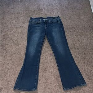 Boot cut lucky brand jeans